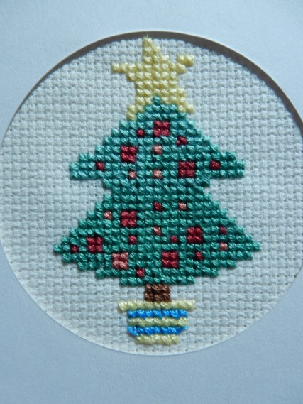 Christmas tree cross stitch