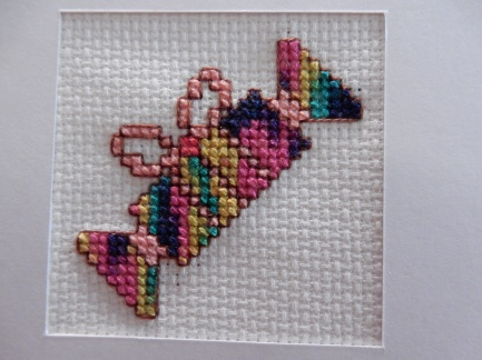 Christmas cracker cross stitch