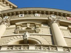 Bundeshaus Bern - canton coats of arms