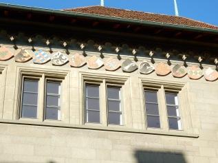 Bern Rathaus - coats of arms