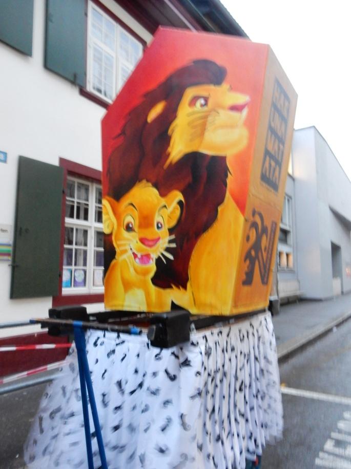 Lion King lantern