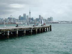 View of Auckland city from Devonport