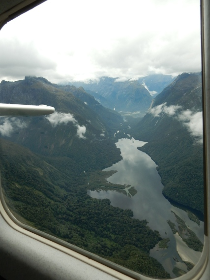 Looking back towards Milford Sound