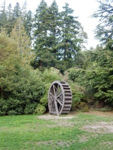 This water wheel was outside the gardens... not sure why
