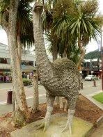 Moa... an extinct, flightless bird