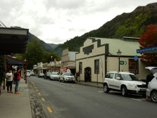 Buckingham Street, Arrowtown's main shopping street