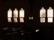Inside Queenstown church
