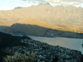 Queenstown and mountains