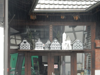 More mini buildings... the church is definitely the Allschwil one!