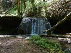 Mini waterfall before the big one