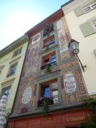 Entrance to a restaurant called Fuchshöhle (fox's den)