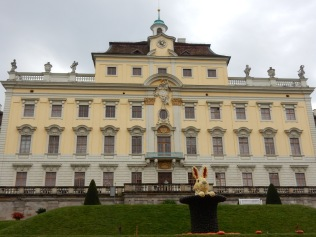 A rabbit in a hat (and Ludwigsburg castle)
