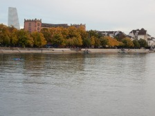 Down by the river... Kaserne and Roche tower