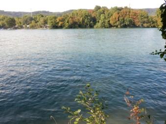 The Rhine by Kaiseraugst