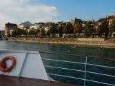 Basel! It was still very warm, so plenty of people were in the water.