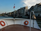 About to dock at Schifflande