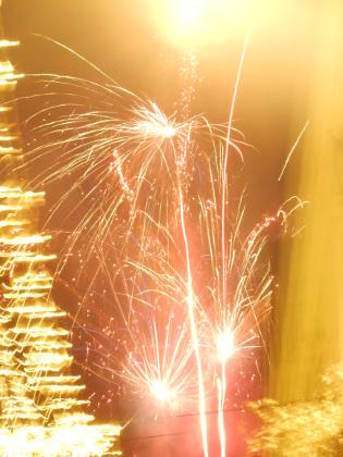 Glasgow fireworks