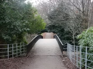 A bridge in Kelvingrove park