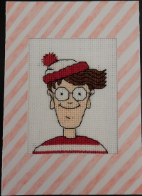 Where's Wally card