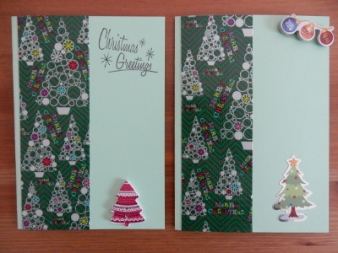 Tree tape cards