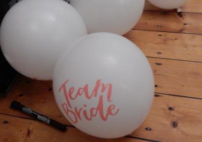 bride balloons