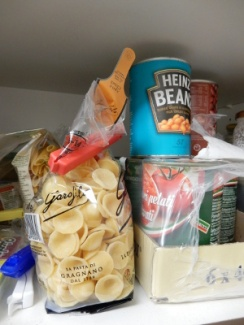 7 food cupboard
