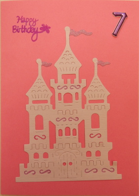 Princess castle card