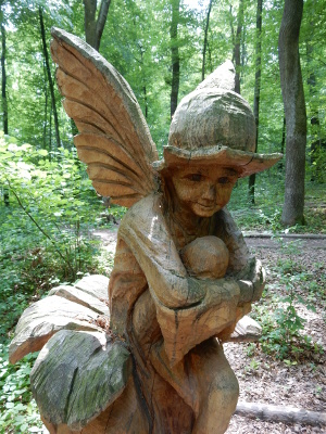 fairy sculpture