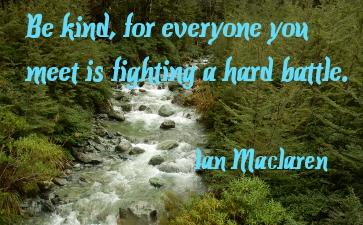 Ian Mclaren quote