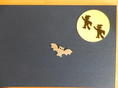 5-Halloween card