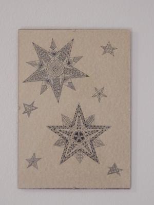 stars zentangle