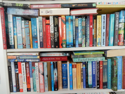 to-read shelves