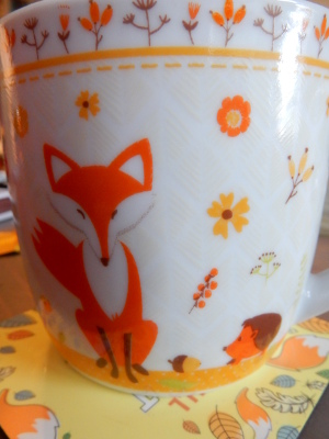 10-fox mug