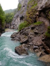 Aare Gorge Waterfall