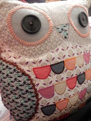 12-owl cushion