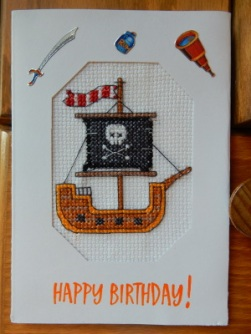 Pirate ship card