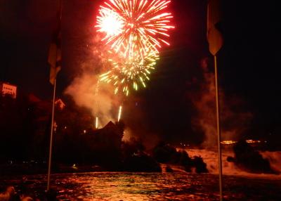 Rheinfall fireworks