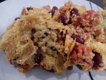 bulgur bake portion