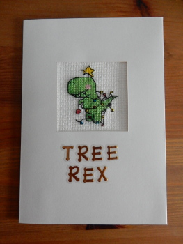 Tree rex card