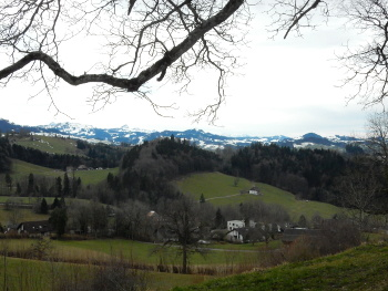 St Gallen mountain view