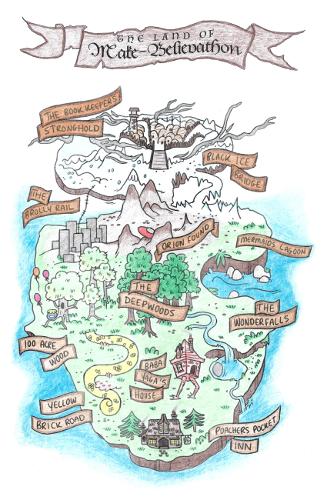 Believathon II Map