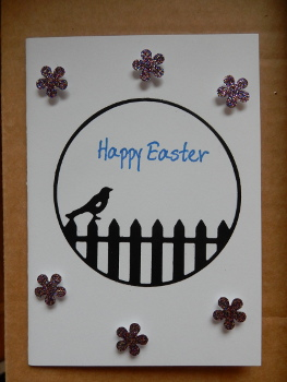bird Easter card