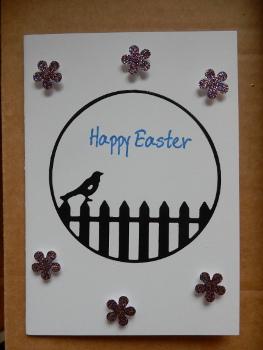 bird Easter card